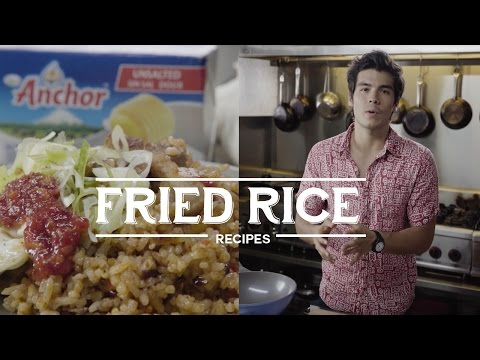 Butter vs. Margarine: Butter Fried Rice Recipe