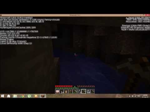 How to find diamonds in Minecraft demo 1.8.1