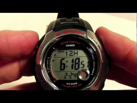 DST Setting for Casio Digital Waveceptor Watch