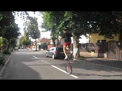 GIRAFFE UNICYCLE RIDING #2