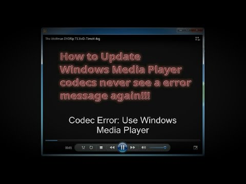 How To Update Windows Media Player Codec Pack