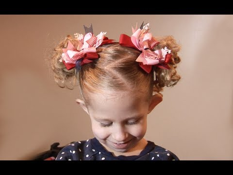 Ziggy Tails // Cute Hairstyles for little Girls