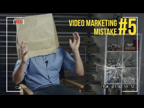 Video Marketing Mistake #5: Not Doing Video! (5 of 5)