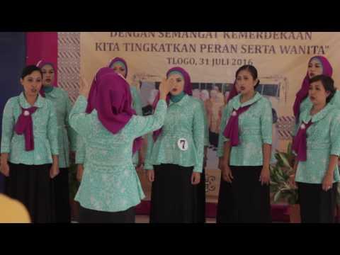 Ibu Kita Kartini - Lomba Koor PKK Tlogo