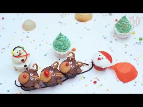 Santa cupcakes - Fun Christmas recipe!