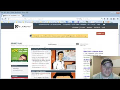 How to Get Your Affiliate Link With ClickBank
