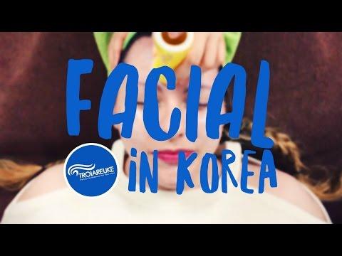 Getting a Facial Massage in Korea ♥  Visiting Troiareuke