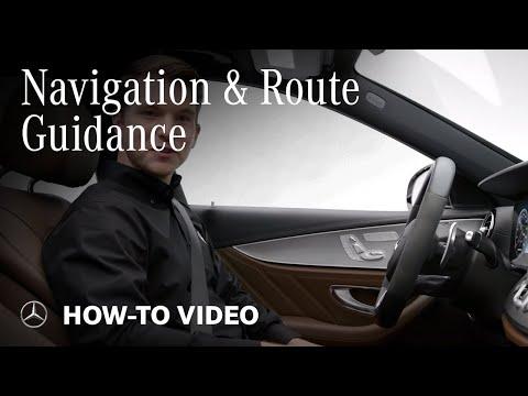Using Mercedes-Benz Tech Navigation System & Route Guidance