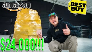 I Paid $500 for $24,000 Worth Of Mystery Returns - Amazon Return Pallet Unboxing