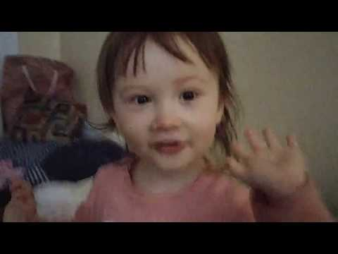 One year old Elsie counting to 10 (first time today)