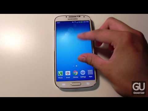 My Galaxy S4 Homescreen & Lockscreen Setup