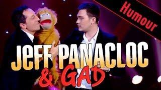 Jeff Panacloc et Jean Marc Avec Gad Elmaleh au Grand Cabaret