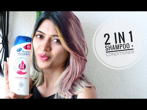 2 in 1 Shampoo + Conditioner || Head & Shoulders Review || Dandruff Cure