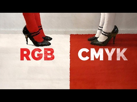 Why RGB Can Never Be Used for Print? | RGB vs CMYK