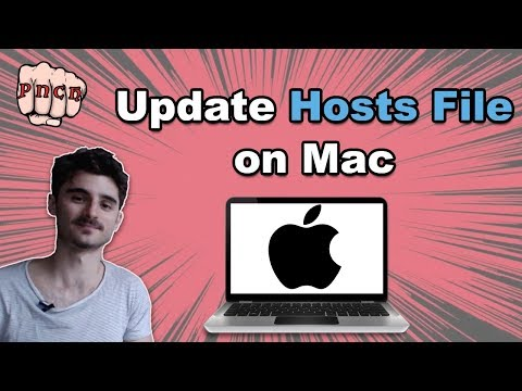 Edit host file mac - Mac hosts file location