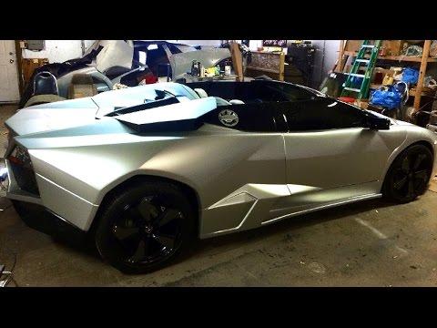 Lamborghini Reventon Roadster Replica