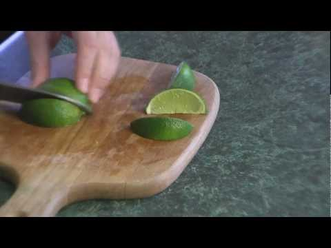 How To Cut Lime Wedges