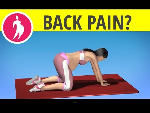 Pregnancy Exercise: Back Pain during Pregnancy - Back Stretch