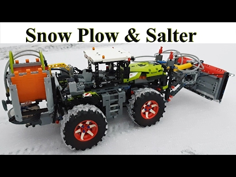 Snow Plow & Salter Lego Technic 42054 Claas Xerion 5000 Trac VC