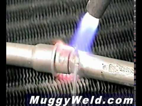 Joining Thick to Thin Aluminum with a Propane Torch at Weld Strength