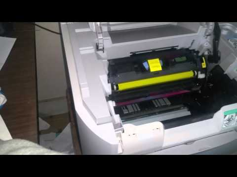 How to replace a Toner Cartridge Canon MF8180C