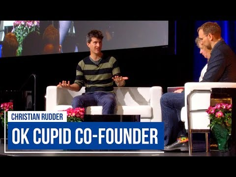 Ok Cupid's 💕  Christian Rudder and Demos at CHI 2018 in Montreal!