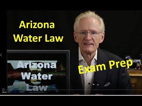 55 Arizona Water Law: Arizona Real Estate License Exam Prep