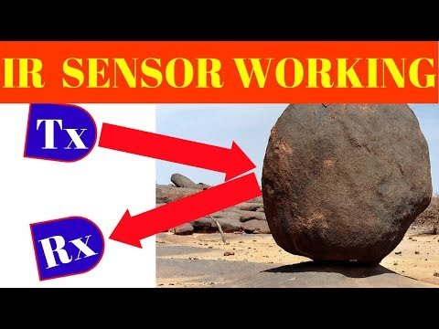 IR  proximity sensor working principle