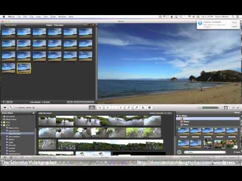 How to Create a Time-Lapse Video from Still Images in iMovie