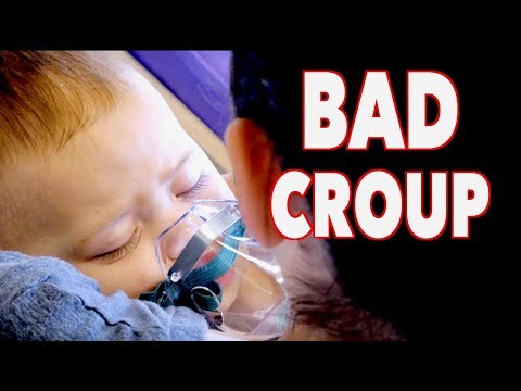 A REALLY BAD CASE OF CROUP (infant) | Dr. Paul