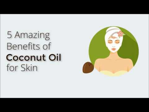 5 Amazing Benefits of Coconut Oil for Skin