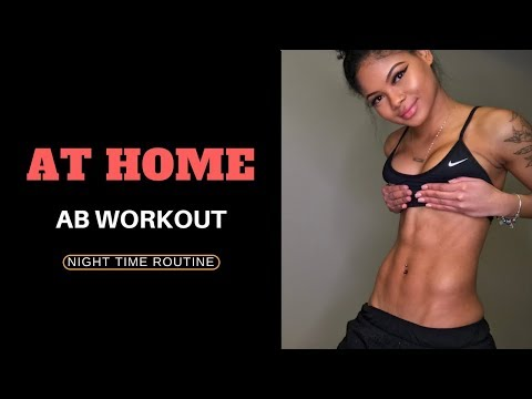 AT HOME AB WORKOUT - WAKE UP WITH ABS