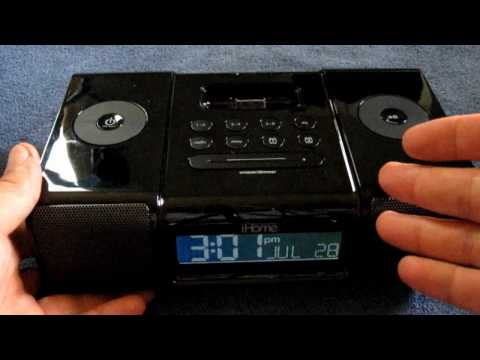 Review iHome IP9 Alarm Clock Radio / Universal Dock iPhone & iPod