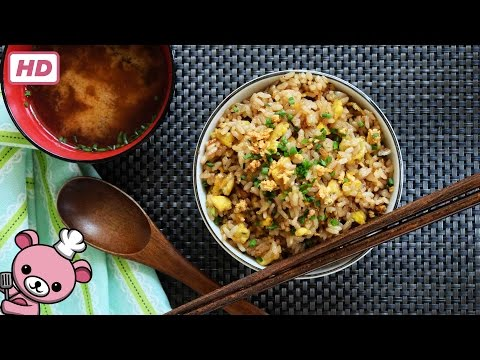How to make - Easy Japanese Garlic Fried Rice (Niniku Yakimeishu) -