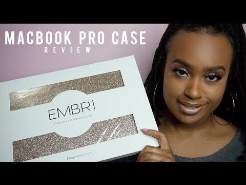 STATEMENT GOLD GLITTER MACBOOK CASE & LAPTOP SLEEVE! | Embri Shop Accessories