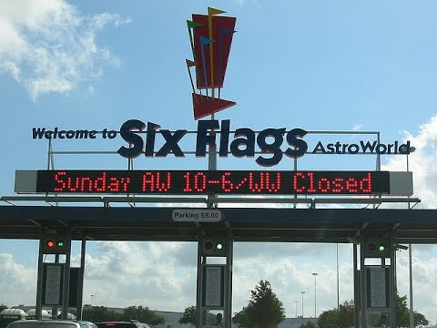 A Day At Six Flags Astroworld Only A Memory