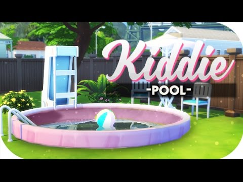 THE SIMS 4 // DIY | KIDDIE POOLS AND OVAL GARDENS! 🌴