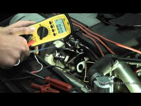 How to test an Engine Coolant or Intake Air Temperature Sensor (any car)