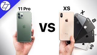 iPhone 11 Pro VS iPhone XS/X/8/7/6S/6 - Should You Upgrade?