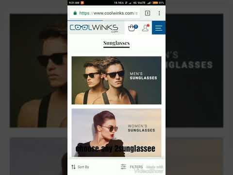 How to get free sunglasses or eyeglasses