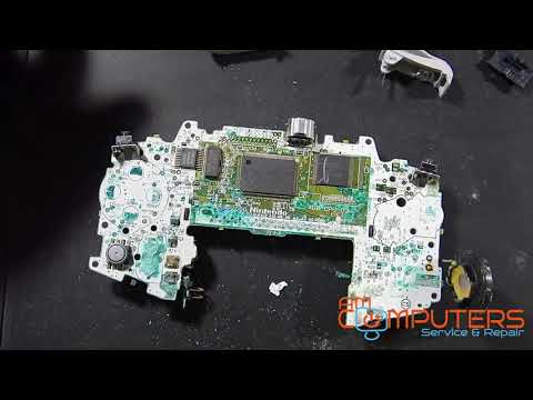 B Roll - Failed Game Boy Advance Severe Corrosion Repair Attempt