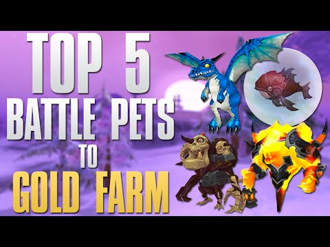 WoW Gold Farming: My Top 5 Battle Pets To Farm For Gold!