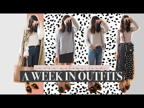 A Week in Outfits - 7 Autumn Wardrobe Looks + Everlane #LoveMyUnderwear Unboxing | Mademoiselle