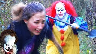 """10 SCARIEST """"IT"""" Clown Sightings from the Youtube KILLER CLOWN Viral Trend"""