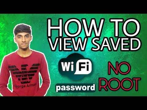 #5 How To View Saved WiFi Password On Android [ NO ROOT ] - | LILLI 4 US |