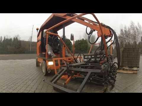Mechanical Interlocking Concrete Paver Installation