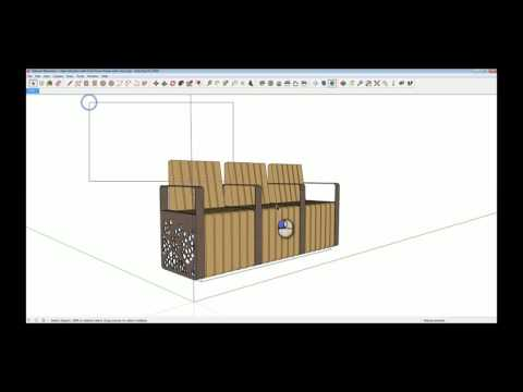 Downloading and Importing a SketchUp file from Marshalls 3D Warehouse