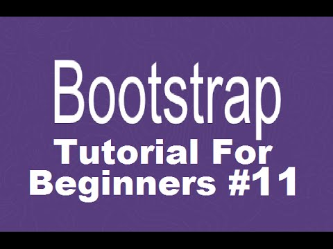 Bootstrap Tutorial For Beginners 11 - Get Started with Font Awesome and Adding Social Icons