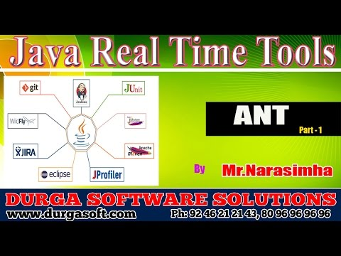 Java Real Time Tools || Java Tools ANT Part - 1