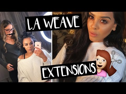 L.A WEAVE HAIR EXTENSIONS with CHOCHAIR| NikkisSecretx